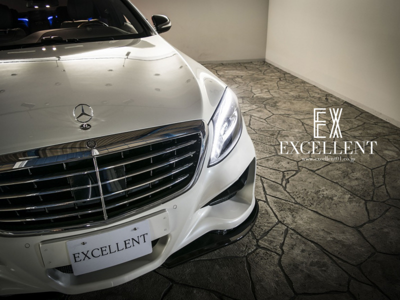 EXCELLENT|エクセレント 御成約情報☆メルセデス・ベンツ メルセデス・ベンツS550 イメージ